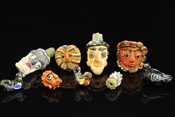 Rare Glass Beads from Europe