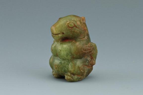 Han Dynasty Jade Bear