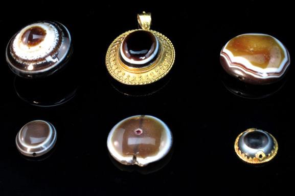 Thumbnail image for Natural Eye Bead – 1500 B.C.