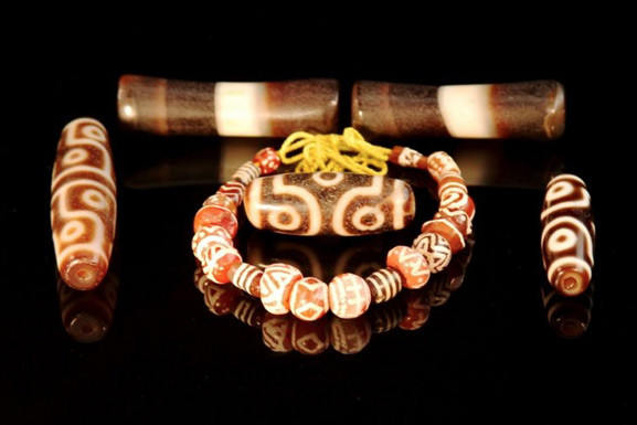 Tibetan Zee Beads and Etching Agate - 2500 B.C. From India